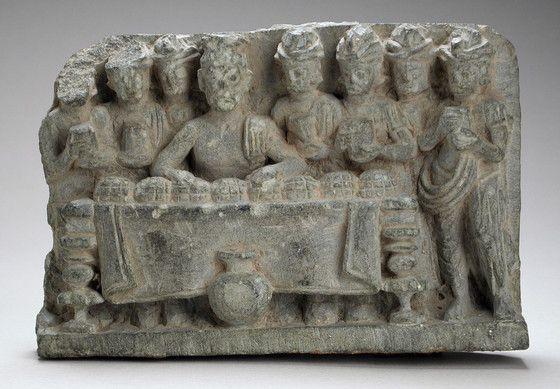 The Distribution of the Buddha's Relics Pakistan, Gandhara