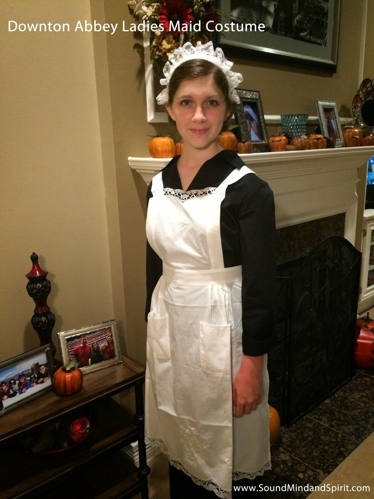Make your own Downton Abbey Ladies\' Maid Halloween Costume | Fall ...