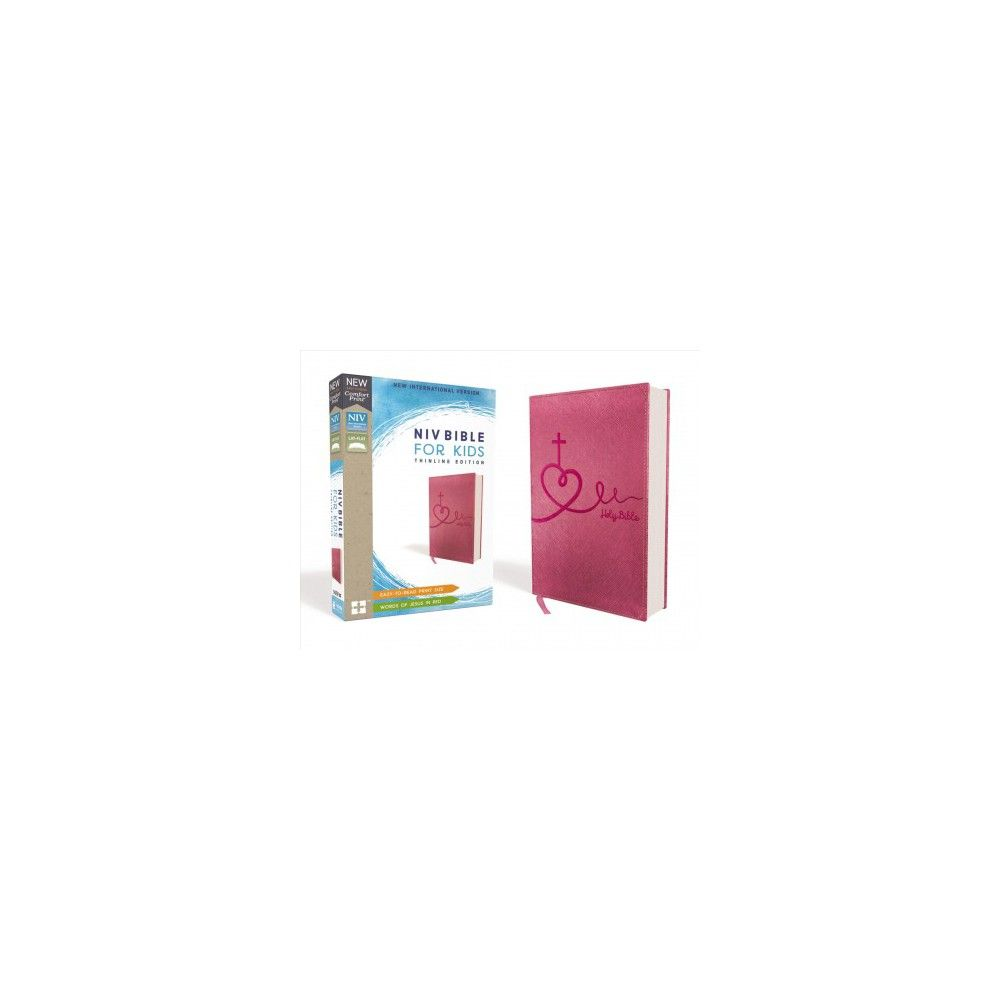 Niv Bible For Kids Leathersoft Pink Red Letter Edition