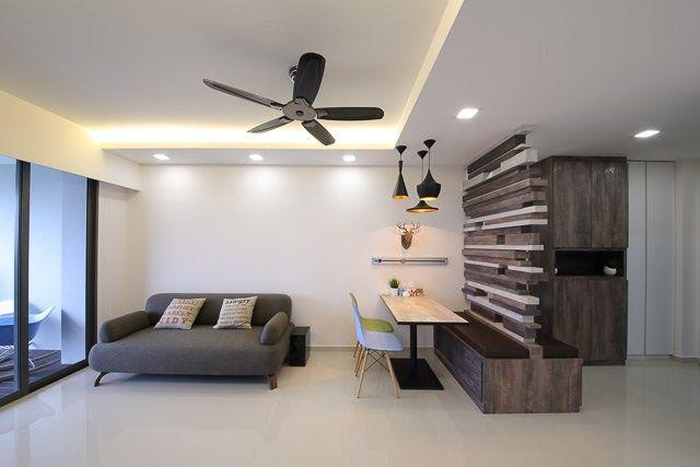 Living Dining Area At Adora Green Dbss Interior Design Singapore Interior Design Commercial Design