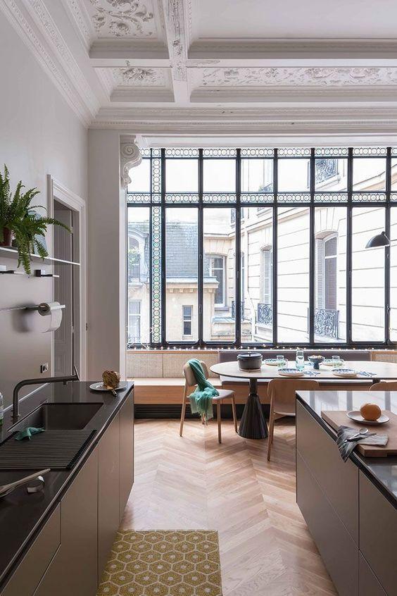 The best office decor ideas for vie interieure interior et modern kitchen lighting also rh pinterest