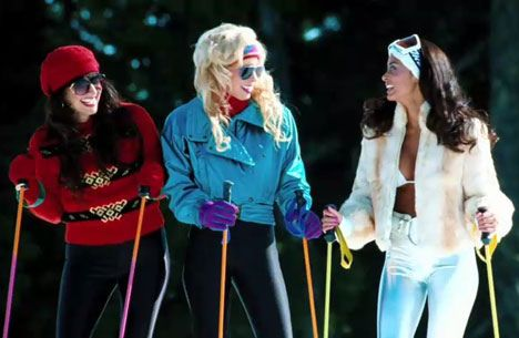 80 S Ski Party Outfit Girls From Hot Tub Time Machine Hot Tub