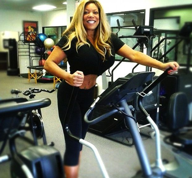 Wendy Williams Hits the Gym, Kris Jenner Shows Boobs + More