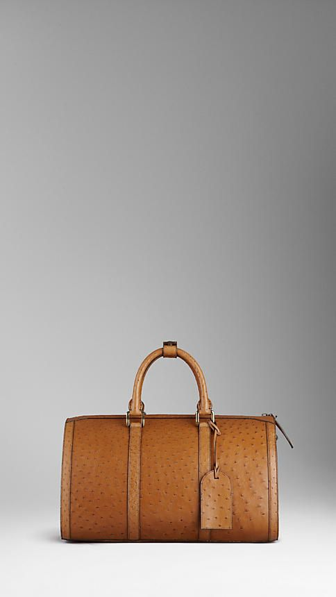 bbdb3a799 Burberry - OSTRICH LEATHER HOLDALL What Is Fashion