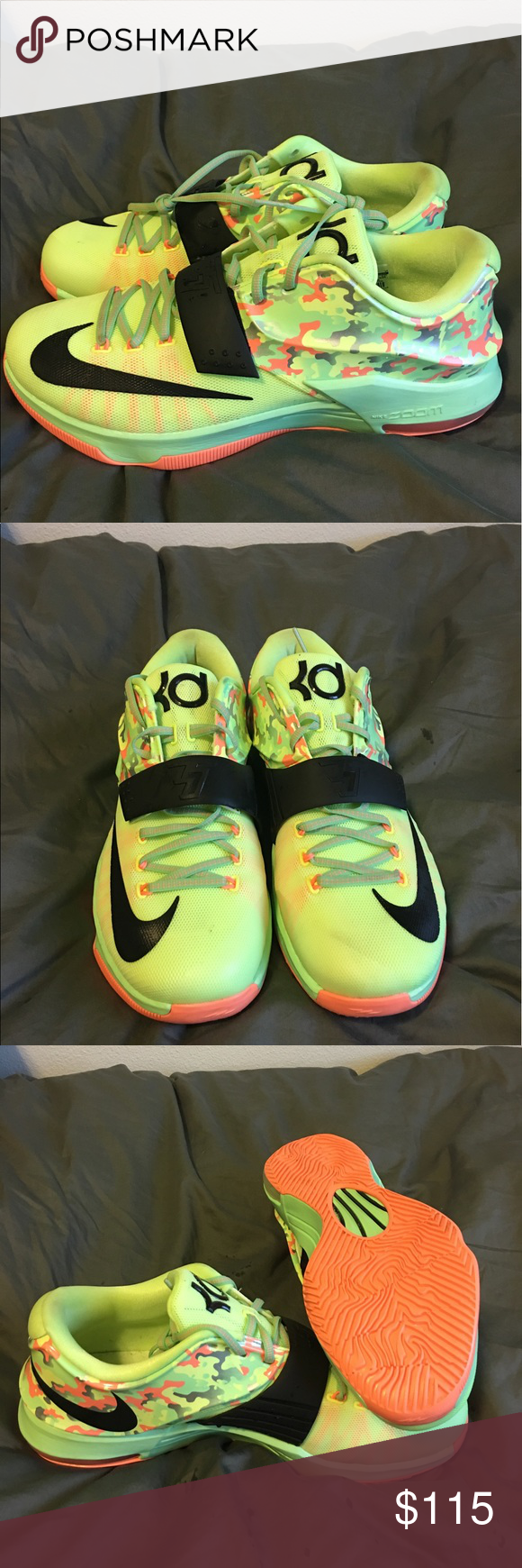 quality design ad500 9309d Nike KD 7 Easter Liquid Lime Brand new, never worn Nike KD7 Liquid Lime size