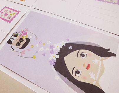 "Check out new work on my @Behance portfolio: ""Wedding - Stamp & Postcard Design"" http://on.be.net/1LPHDXj"