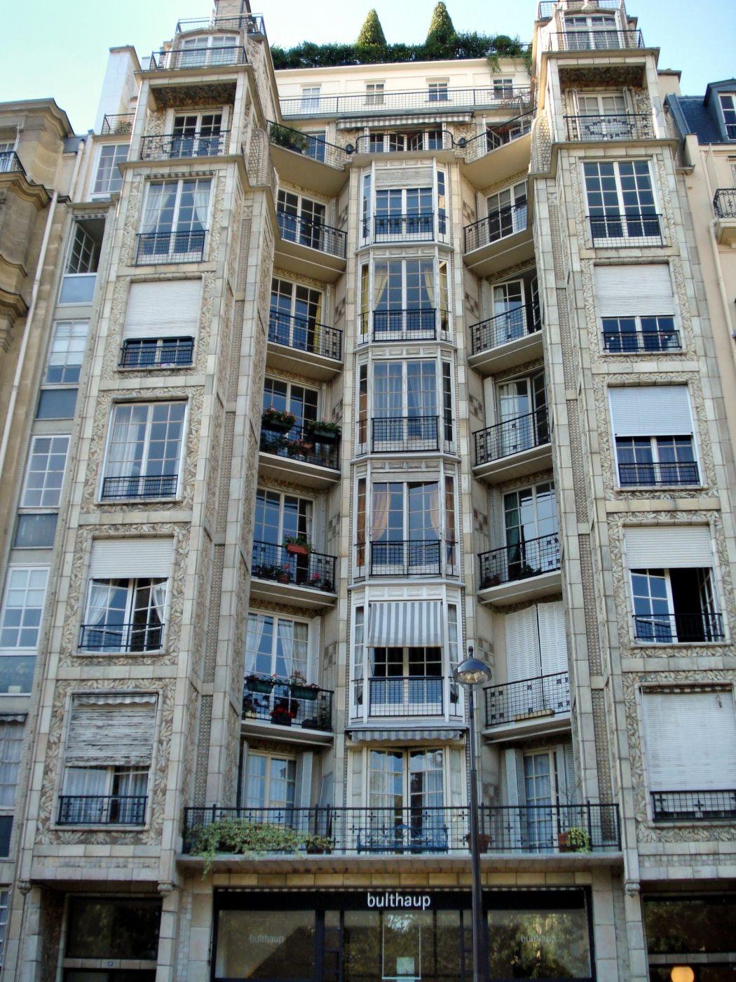 Apartment building by auguste perret 1903 rue franklin 25 paris france architektur - Beruhmte architektur ...