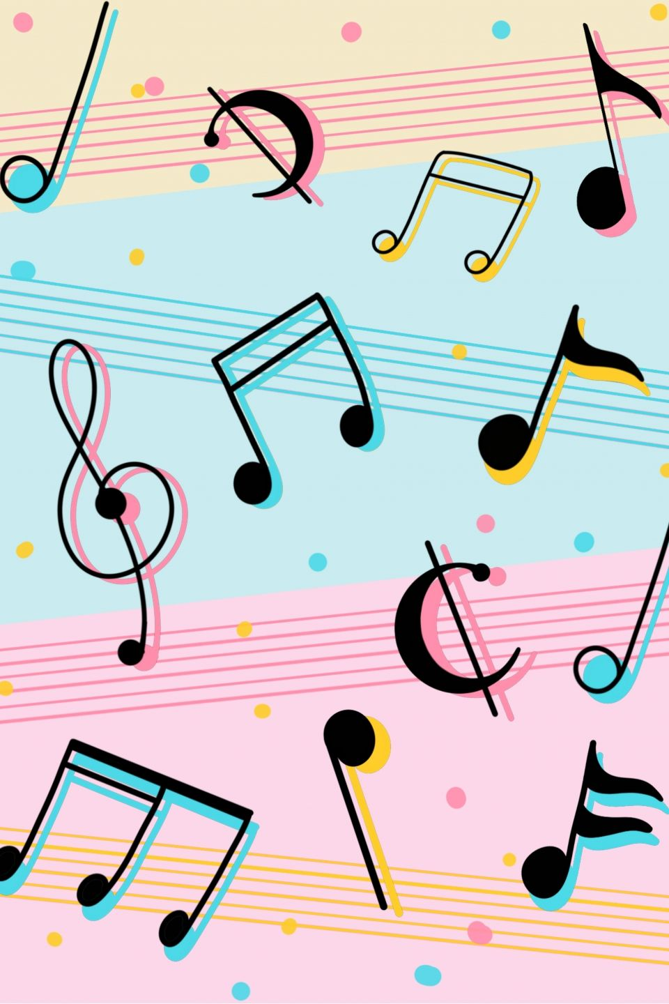 Music Festival Musical Note Line Background Music Notes Art Music Notes Background Music Wallpaper