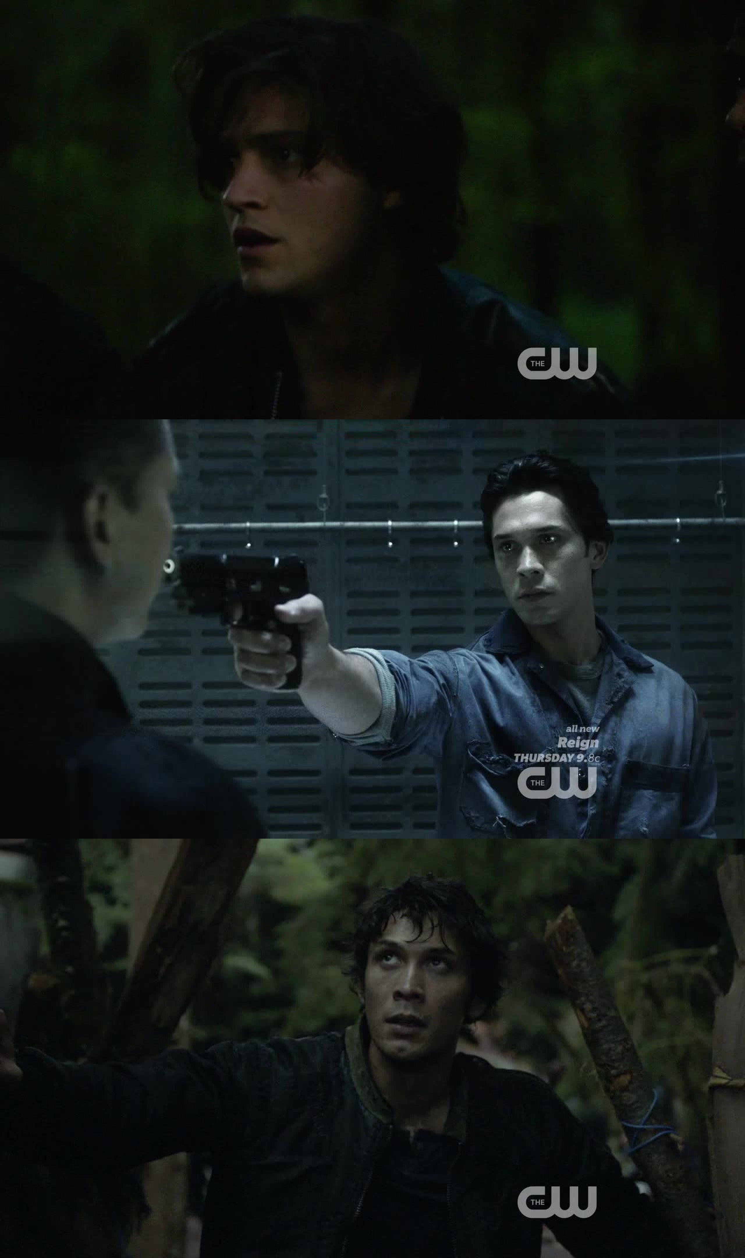 Interessanti i flashback tra Octavia e Bellamy.