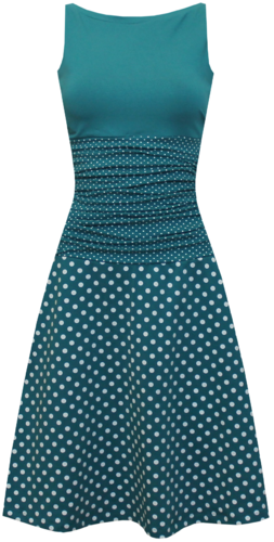Photo of dots allover Kleid Ivy