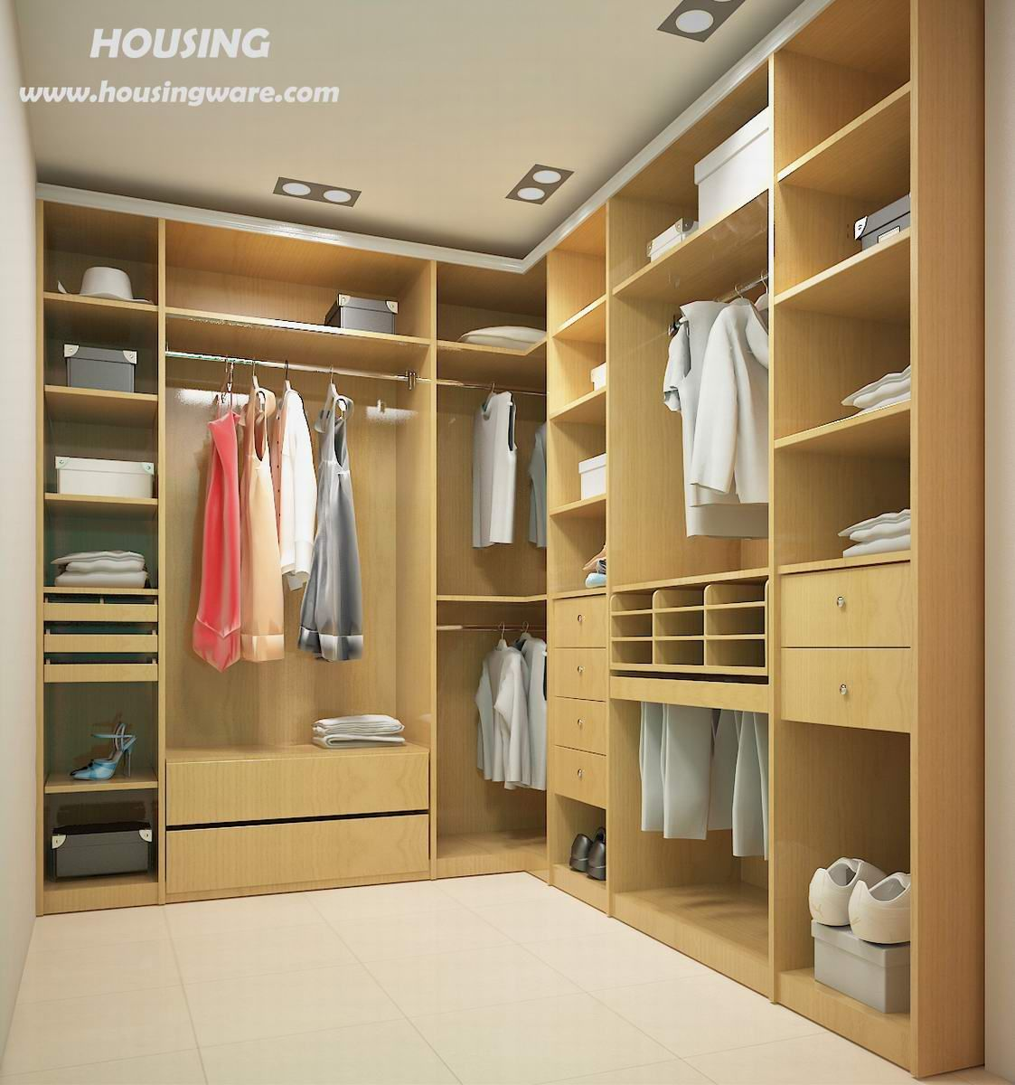 Huge walk in closets design inspiration home design huge for Walk in wardrobe design