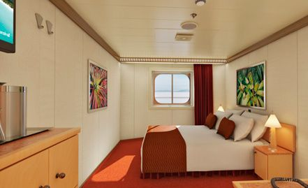 Carnival Magic Interior With Picture Window Walkway View Stateroom