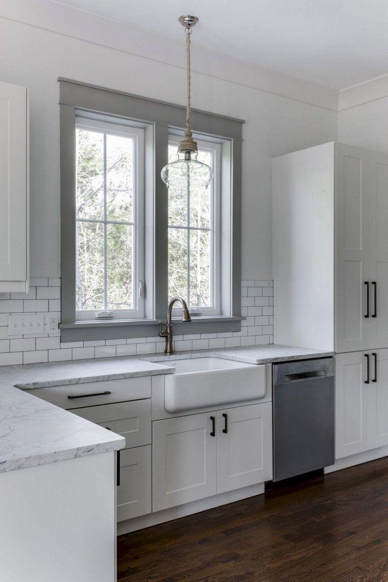 55 luxury white kitchen ideas farmhouse