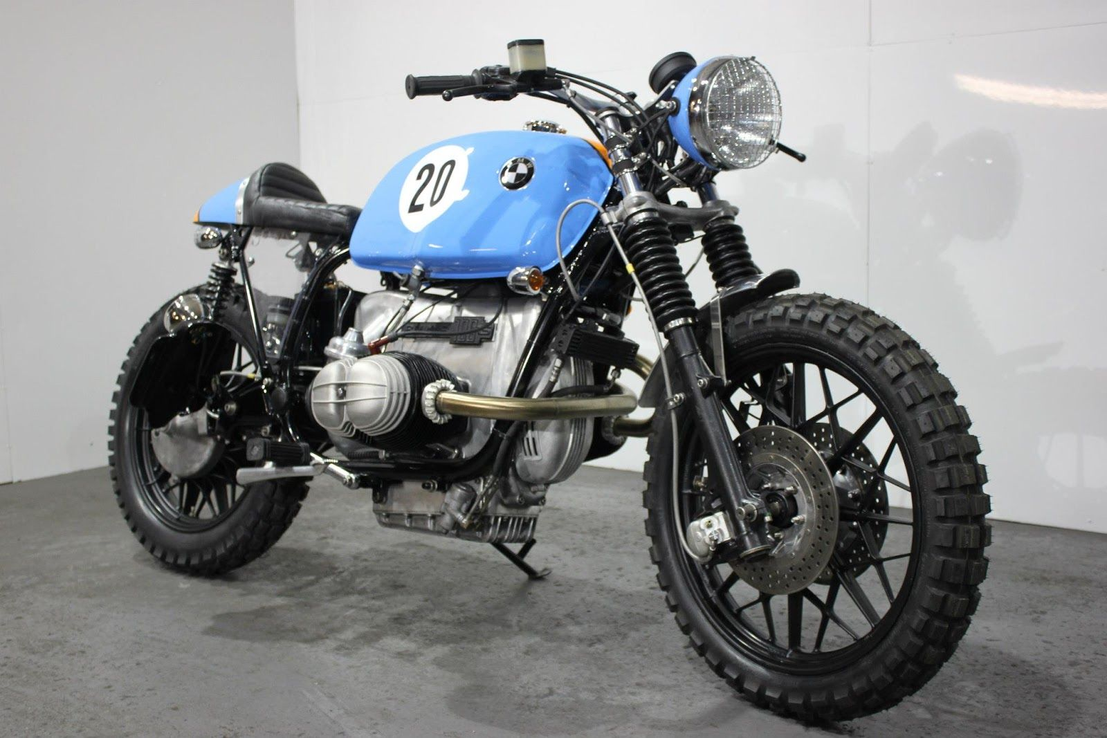 bmw r100 rs street scrambler le man by kevils speed. Black Bedroom Furniture Sets. Home Design Ideas
