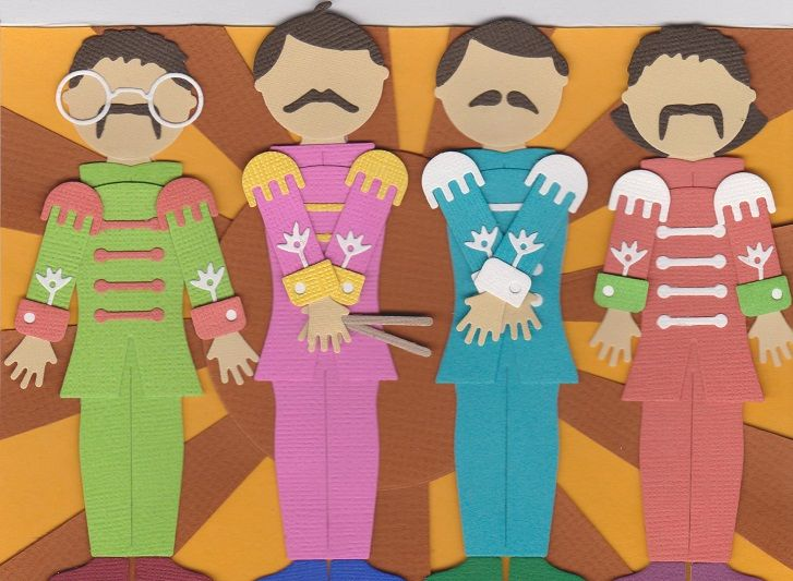 Sgt Pepper Scrapbook Cards Pinterest – Beatles Birthday Cards