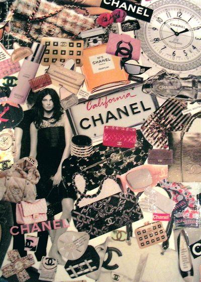 #chanel collage | Chanel | Chanel, Coco chanel fashion ...