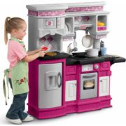 Little Tikes Gourmet Prep N Serve Kitchen Pink