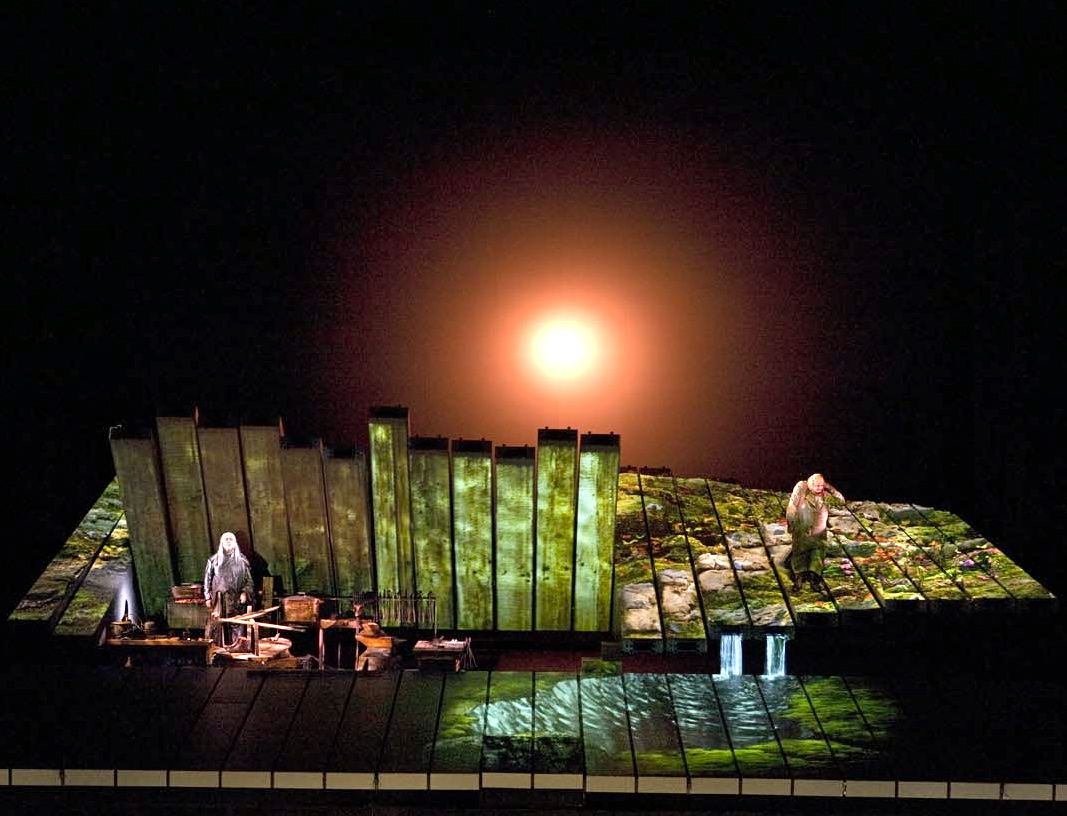 Der Ring Robert Lepage Google Search The Master And