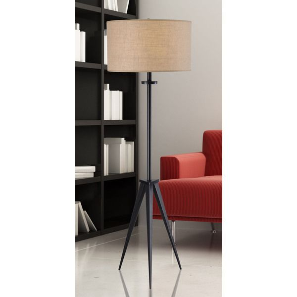 Caperana 1 Light Oil Rubbed Bronze Floor Lamp   Overstock™ Shopping   Great  Deals