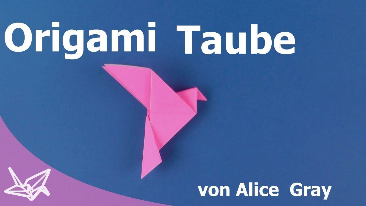 Photo of Origami Taube [Tutorial]