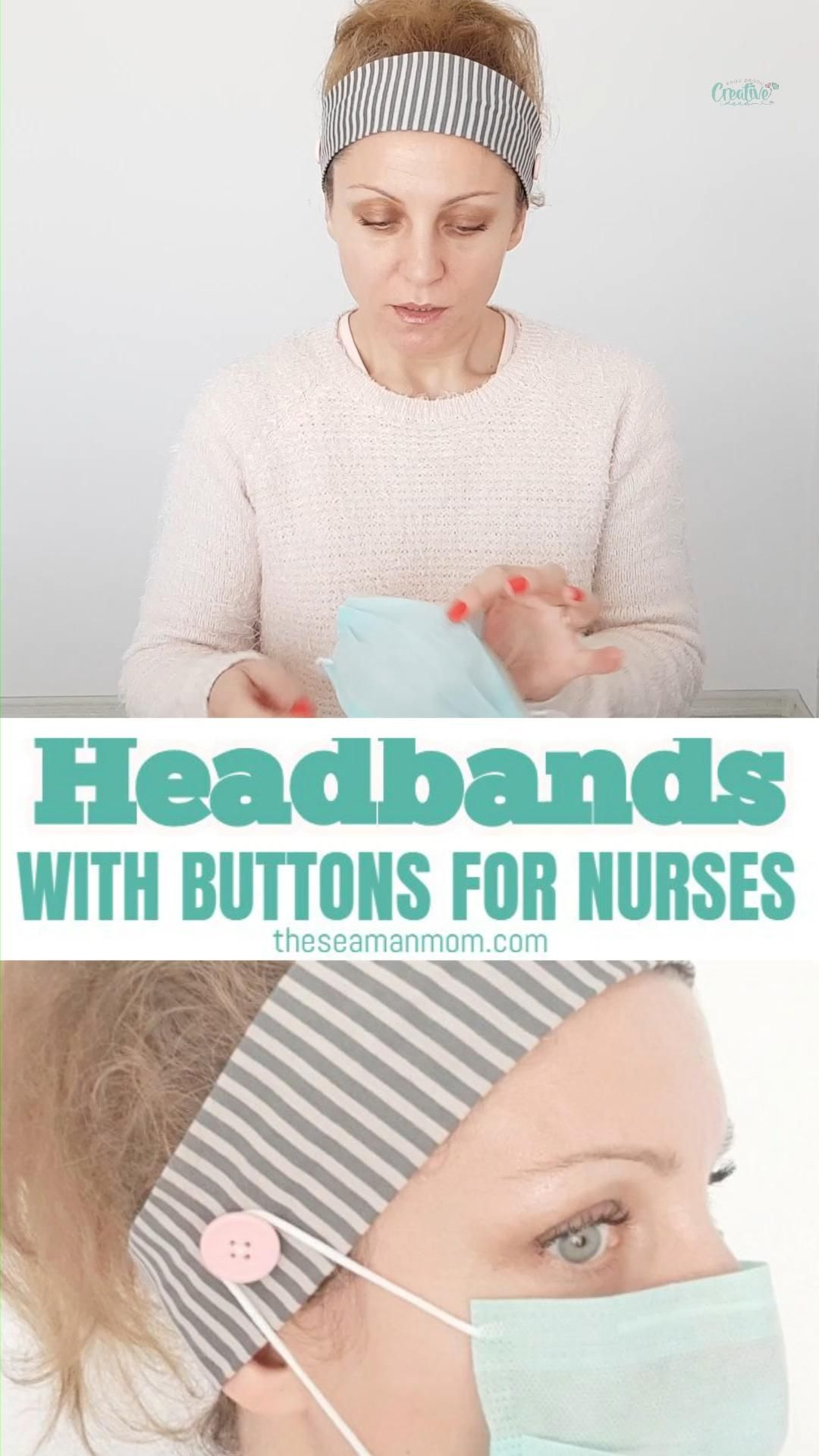 Photo of DIY HEADBAND WITH SIDE BUTTONS