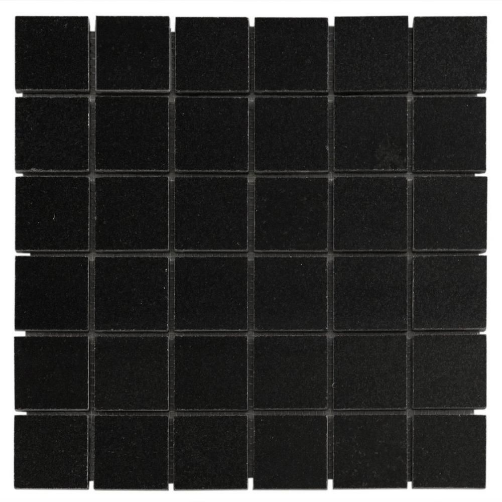 Absolute Black Granite Mosaic Absolute Black Granite Mosaic Mosaic Decor