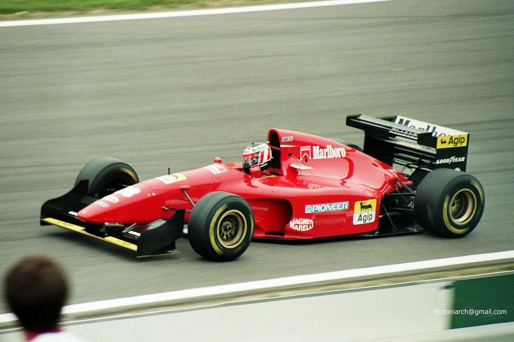 FERRARI 412-T1 GERHARD BERGER 1:43 F1 FORMULA 1 1994#28