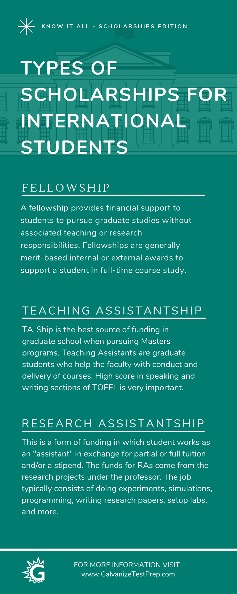Scholarship for international students...The following ...