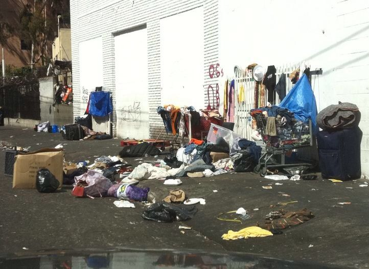 Skid Row Los Angeles Skid Row Los Angeles Homeless People Little Shop Of Horrors