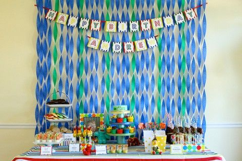 great table background decoration Harpers Birthday Pinterest