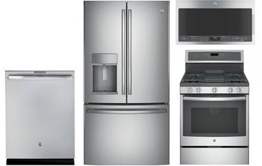 GE Profile Stainless Steel French Door Refrigerator with