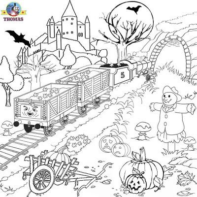 Free graphics printable pictures to color James Thomas the train ...