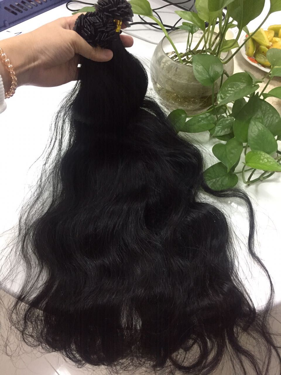 Flat Tip Hair Extensions Are Produced Using The Vietnamese Hair