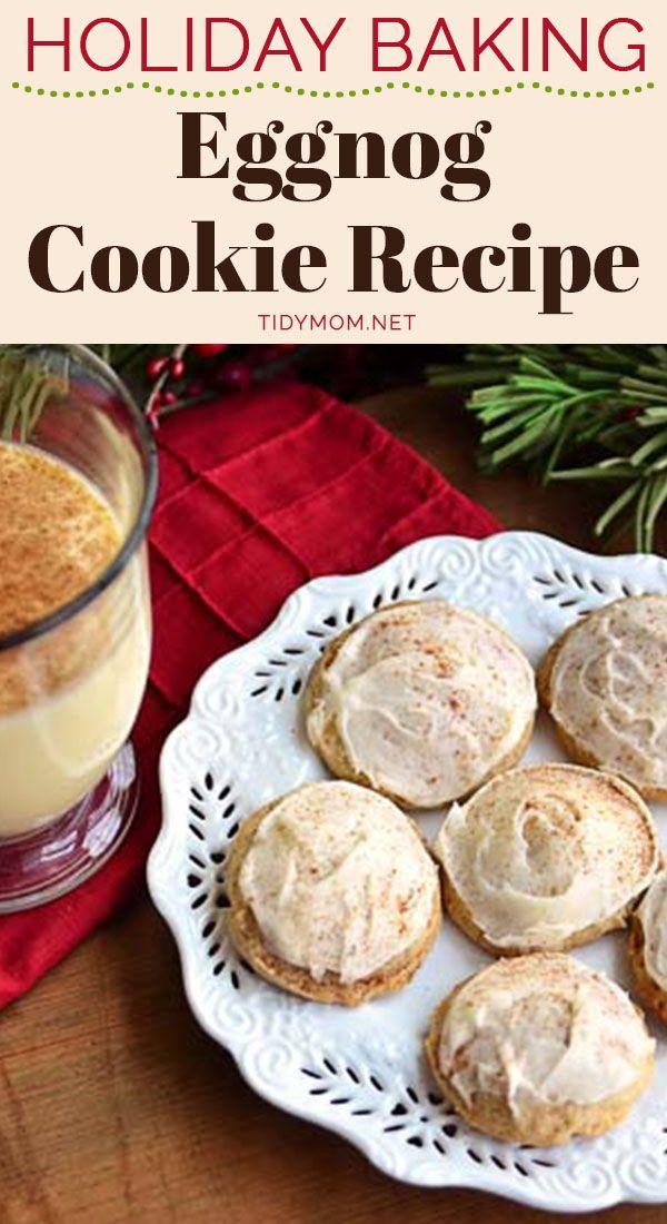 Eggnog Cookies Iced With Eggnog Buttercream Recipe Tidymom Net