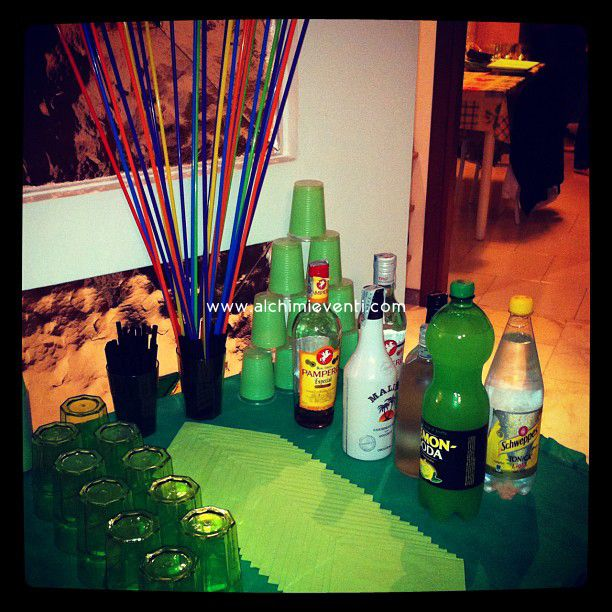 Arianna's Party Drinks Corner