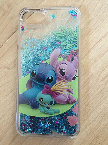 iPhone 7 ,Stitch Bling Sparkle Liquid Glitter Quicksand C... https ...