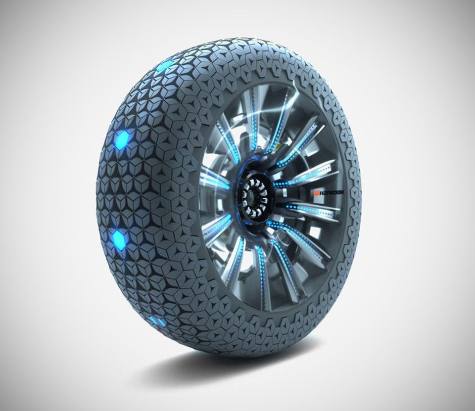 Hankook S Futuristic Hexonic Wheel Automatically Adapts To Road Conditions In Real Time Tiny House On Wheels Cool Technology House On Wheels