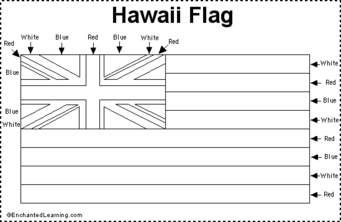 Pin By Althea Seepaul On Information Documents Hawaii Flag Flag Coloring Pages Coloring Pages