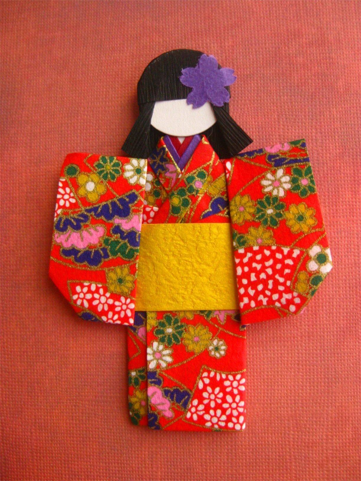 Japanese Arts and Crafts | Origami Paper Doll | Medonna ... - photo#32