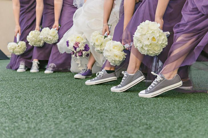 4a7ef66f2bd1 Would You Wear Sneakers Down the Aisle