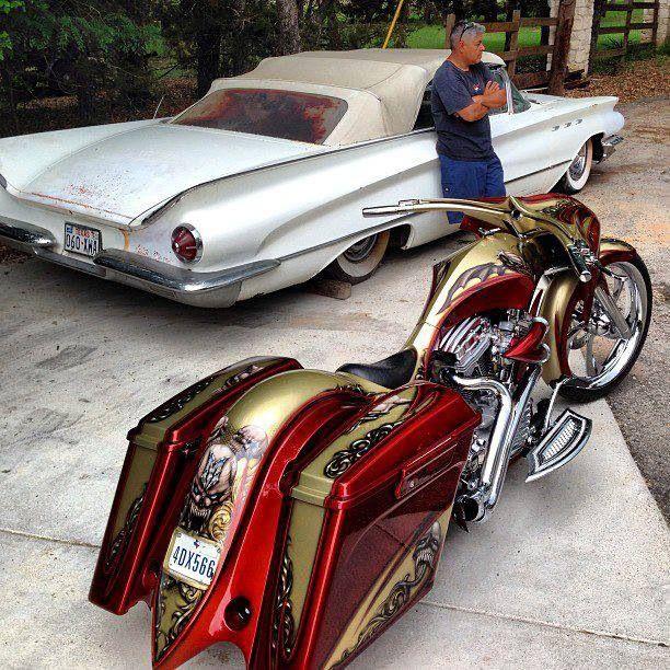 Kill Paint Job Custom Baggers Harley Davidson Bikes Harley Davidson Touring