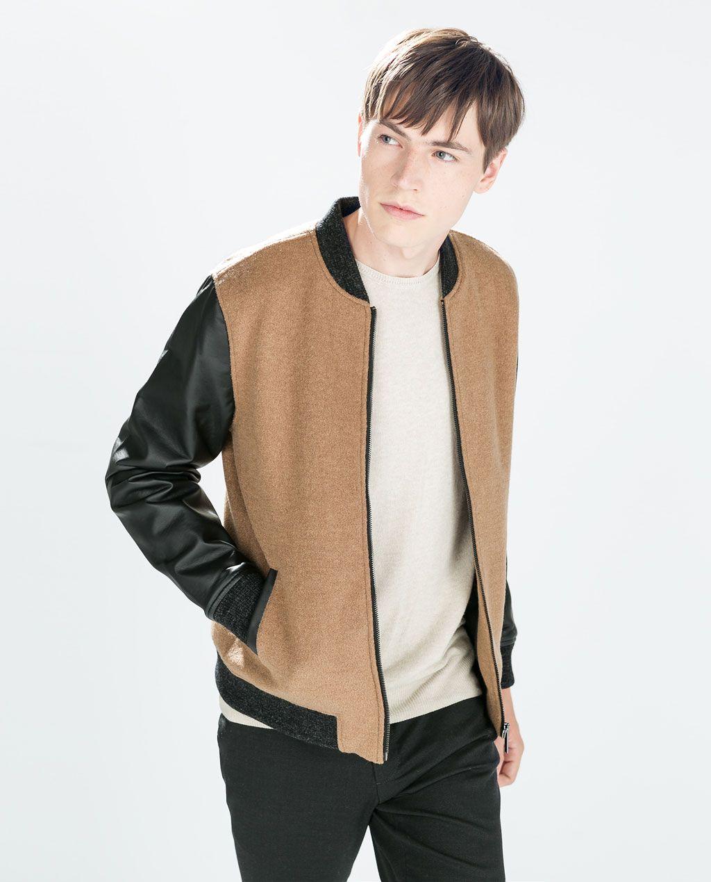 ZARA LOOKBOOK Bomber jacket, Zara, Jackets