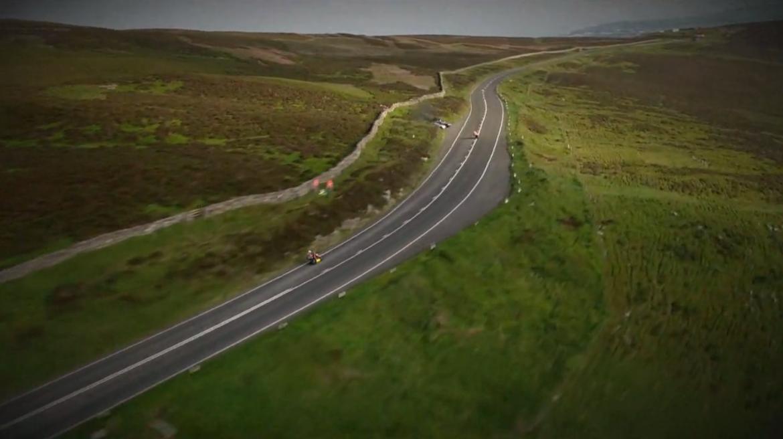 Isle of Mann! Will take it a bit slower than the TT boys though...