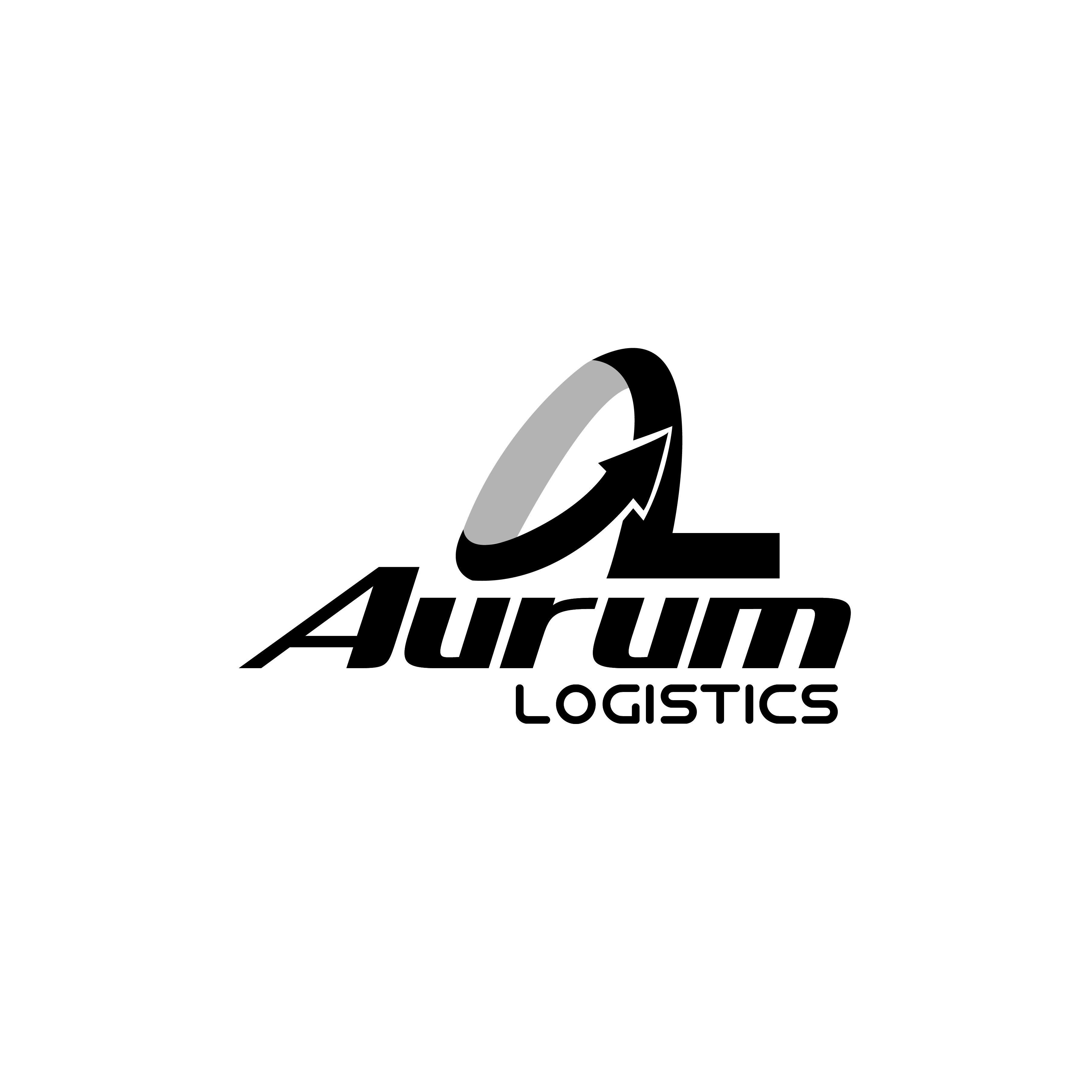Aurum one tint design vector logo logotipo diseño