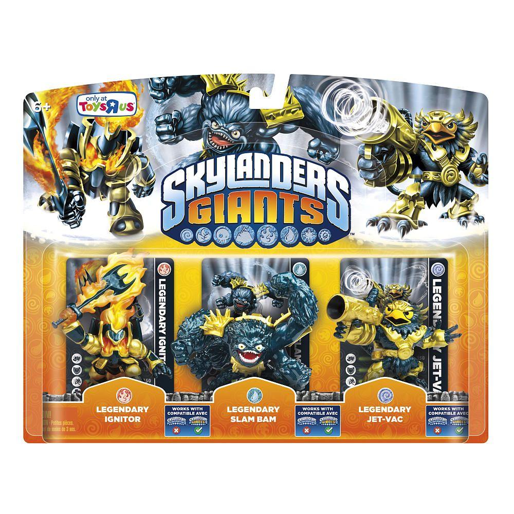 Skylanders Toys R Us : Skylanders giants legendary pack ignitor slam bam