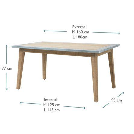 kitchen zinc zinc table table furniture furniture on kitchen zinc id=27581