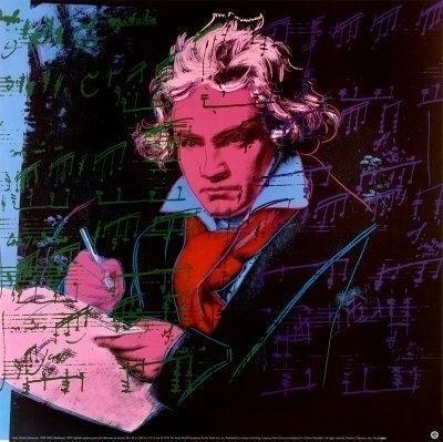 Andy Warhol, Beethoven 392 (1987)