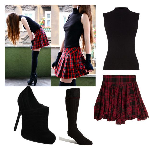 """""""red and black❤"""" by yana3020 on Polyvore featuring Oasis, Polo Ralph Lauren and Nordstrom"""