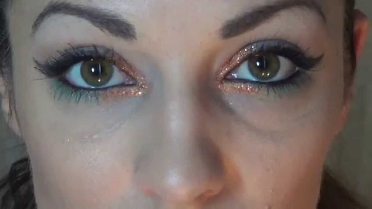 Pop of Color Copper Glitter