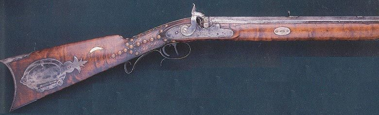 Antique Hawken Rifle | Pics of the Smithsonian Hawken - an